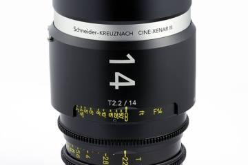 Schneider-Kreuznach Cine Xenar III 14mm Lens