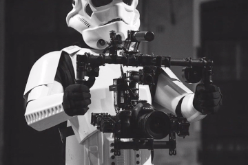 Imperial Stormtrooper Segway Brushless Gimbal