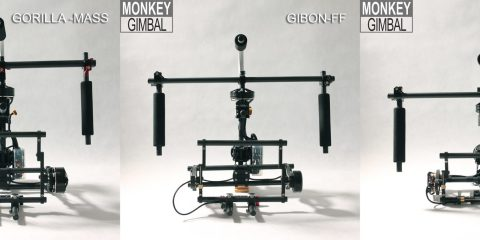 Monkey Gimbal 3-axis brushless gimbal camera rig
