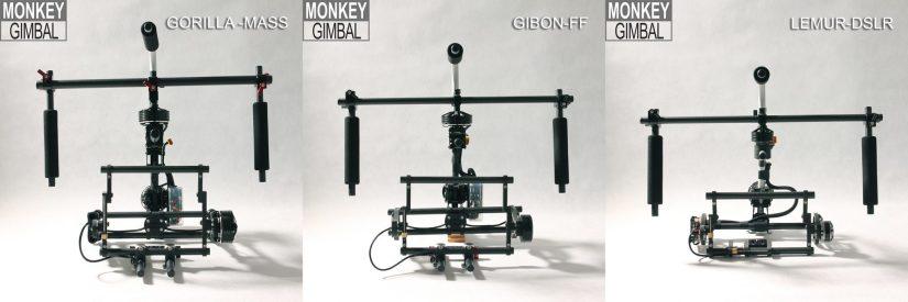 Monkey Gimbal 3-axis brushless gimbal camera rig