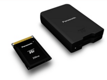 Panasonic expressP2 Cards For 4K Capture:
