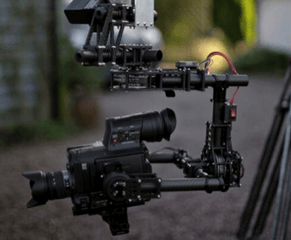 Motion Picture Hire Crane Brushless Gimbal