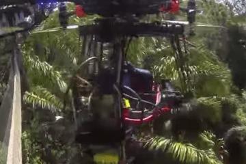 15K Multirotor System Flies Away Alone Crashing Deep Into The Peruvian Amazon Jungle
