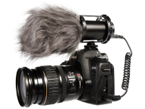 ikan IK-M1 Lavalier Microphone & IK-VM300PS Stereo Video Condenser Microphone: