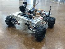 Sneak Peek RC 4 Wheel Rover Kit Featuring a GoPro: