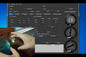 Brushless Gimbal Handheld Camera Rig Settings: 3 Part Tutorial: