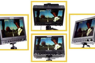 ikan KVM-7050W 7″ 3G HD-SDI On-Camera Monitor: