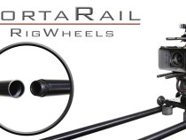 RigWheels PortaRail Collapsable Dolly Slider Rail System: