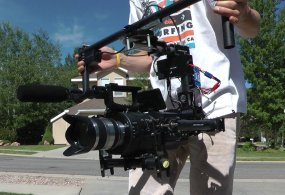 DIY Brushless Gimbal with FS700 from Stratus Productions