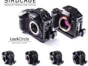 The LockCircle BirdCage for Panasonic Lumix GH4 & Sony A7 Series Cameras