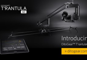 DitoGear T'rantula Go & T'rantula HD, MoCo Sliders, Plus the Spinn360 Motion Control Turntable