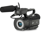 JVC Drop The GY-LS300 S35mm 4K Camera Plus GY-HM170 & GY-HM220 4K Cameras