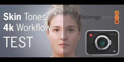 Blackmagic Design Production Camera 4k Skin Tones Test from Pietro Mingotti