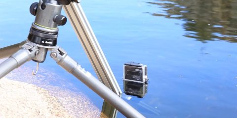 ZenSlider under the water