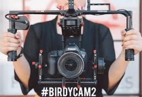 Varavon Birdycam 2 BTS With 8x Studio Strobes at Wanderwall Space from IE Photo Rentals