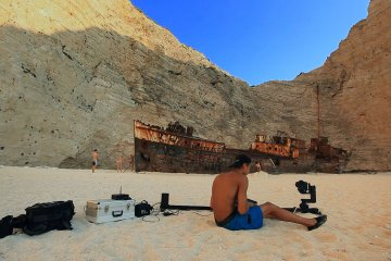 Behind The Timelapse – Navagio Shipwreck from Maciej Tomków