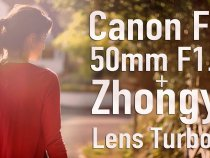 Canon FD 50mm F1.4 + Zhongyi Lens Turbo II Focal Reducer | TEST VIDEO from Alan Besedin