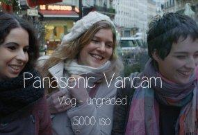 Panasonic VariCam Vlog – Graded Vs Ungraded 5000 ISO from Vincent Follézou