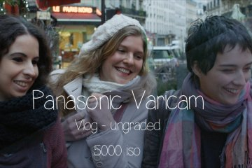 Panasonic VariCam Vlog – Graded Vs Ungraded 5000 ISO from Vincent Follézou
