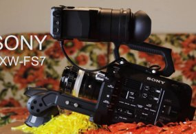 Sony PXW-FS7 Unboxing / Review / Test from 12FPS