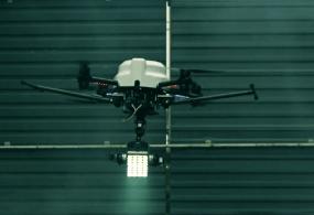 Digital Sputnik LED Pro Lighting System Flying on Pro UAV's