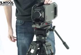 Blackmagic URSA Camera and SECCED Tripod Head Kit from DIY FILMTOOL