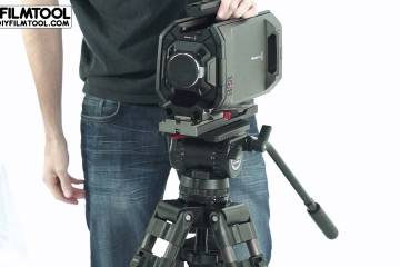 Blackmagic URSA Camera and SECCED Tripod Head Kit from DIY FILMTOOL