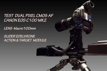 Test Dual Pixel – Canon EOS C100 MK2 from Paolo Micai