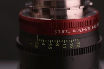 Canon CN-E zoom lens mount change