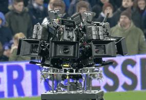 Massive Camera Rig and Hollywood Comes To Goodison Park via Everton Football Club