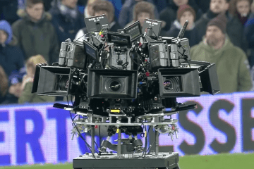 Hollywood Comes To Goodison Park via Everton Football Club