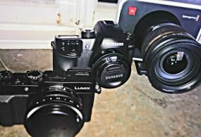 4K Video Showdown: Samsung NX1 vs Panasonic LX100 vs BMPC Camera from Mattias Burling