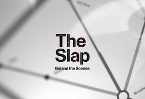 """Behind the Scenes: Making the Titles for NBC's """"The Slap"""" from Christopher Webb"""