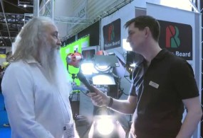 BVE 2015: Photon Beard LED Redhead and HMI Blonde Lights