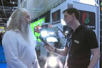 BVE 2015: Photon Beard LED Redhead and HMI Blonde Lights
