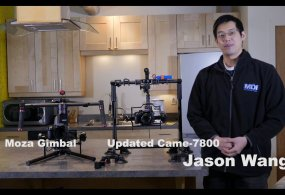 Introduction to the Moza 3-axis Gimbal by Gudsen from Johnny Wu