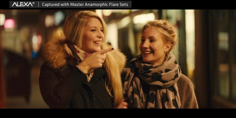 Master Anamorphic Flare Sets showreel from ARRI