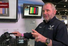 Nigel Wilkes from Panasonic Talks VariCam Cameras at BVE 2015 with Stephen Pritchard