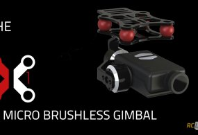 Shoot Smooth Aerials Indoors: RC Logger X1 Micro Brushless Promo