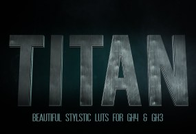 Titan Color Grading LUTs for GH4 and GH3 by Ground Control