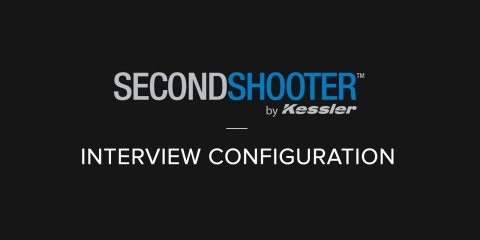 Kessler Second Shooter Interview Configuration