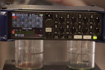 NAB 2015: A Look at the Zoom F8 8-channel Field Recorder from Gotham Sound
