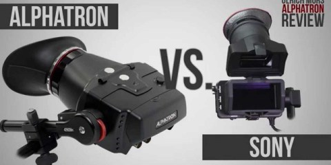 A 12 Minute Look at the Alphatron Broadcast EVF and the Sony FS7 with English subtitles