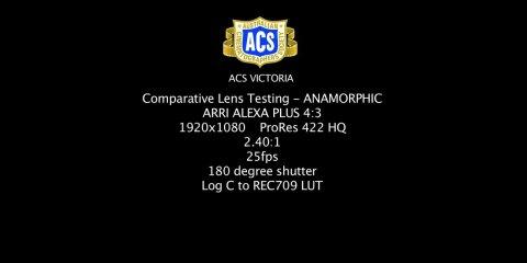 Anamorphic Lenses Comparison from ACS Victoria
