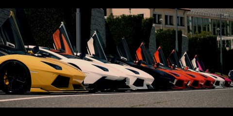 """Lamborghini Aventador """"The 1st Touring Off Meeting"""" from MS-films.net"""