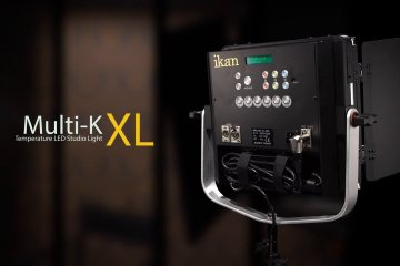 Multi-K XL Variable Color Temperature LED Studio Light from ikan