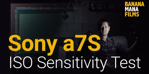 Sony a7S Camera ISO Sensitivity Test from BananaManaTV