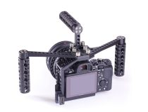 LockCircle Birdcage BoomBooster For Sony A7 Series Cameras and the GH4