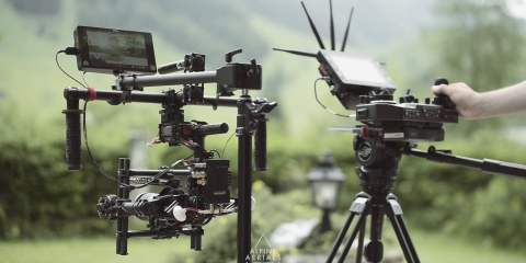 Freefly MoVI MIMIC & PANBAR Demonstration by ALPINE AERIALS