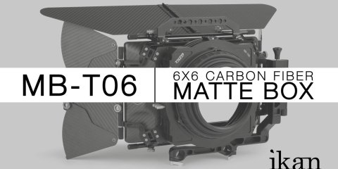 Tilta MB-T06 6×6 Carbon Fiber Matte Box from ikan